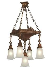 arts and crafts chandelier mission arts and crafts craftsman rustic lighting chandeliers arts and crafts pendant