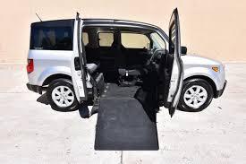 2008 honda element ex wheelchair van