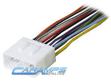 wiring harness adapter ebay Car Stereo Wiring Harness Adapters new car stereo cd player wiring harness wire adapter plug for aftermarket radio car stereo wiring harness adapters walmart