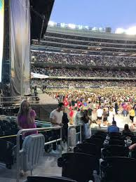 Soldier Field Seating Chart Kenny Chesney Soldier Field Section 144 Row 9 Seat 2 Kenny Chesney