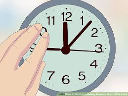 image titled maintain a battery powered quartz wall clock step 16