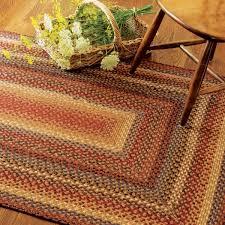 biscotti multi color cotton braided rugs