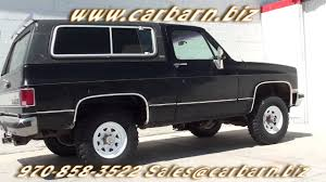 SOLD! - 1990 Chevy Full Size Blazer at Car Barn, Inc. in Fruita ...