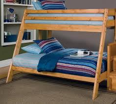 wood bunk beds twin over queen