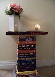 diy end tables book furniture