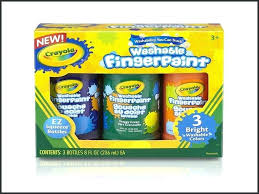 bathtub fingerpaint soap crayola washable secondary 3 count 8 ounce finger paint bath soap