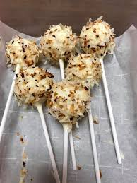 Coconut Cake Pops Ditzy D Sweets And Treats Facebook
