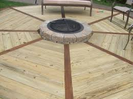 gas fire pits for decks propane fire pit on wood deck simple cool amazing good design