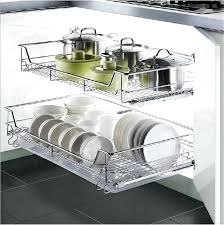 sliding wire baskets for kitchen cabinets sliding wire baskets storage units furniture slide out shelves for