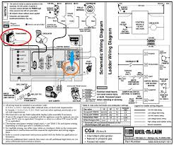 how to connect thermostat c wire to weil mclain cga boiler home notice the transformer is circled in red the location where the transformer wiring terminates is circled in orange the common side of the transformers