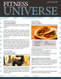 sample company newsletter business newsletters examples visual research for newsletter