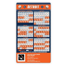 detroit tigers baseball team schedule magnets 4 x 7
