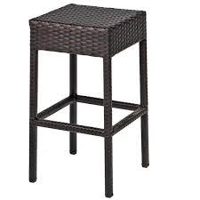 tkc napa backless outdoor wicker bar stools in espresso black resin wicker outdoor furniture