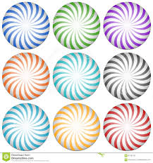 Free Clipart Abstract Designs Spirally Lines Starburst Badges Abstract Design Elements 9