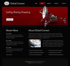 free html5 web template free communications html5 website template