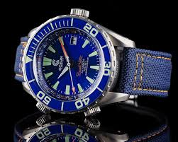 Ocean Design Wellington New Release Ocean Navigator With Blue Dial And Two Bezels