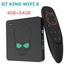 Beelink GT King WIFI 6 Amlogic S922X Smart Tv Box Android 9.0 DDR4 4GB 64GB  1000M Set Top Box 2.4G/5G Dual Wifi 4K Media Player|Set-top Boxes