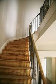 the staircase of a manhattan duplex