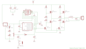 microcontroller class d amplifier rev2 circuit diagram