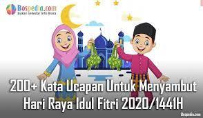 Kumpulan contoh mewarnai kartu ucapan idul fitri terbaru model 200 Kata Ucapan Untuk Menyambut Hari Raya Idul Fitri 2021 1442h Bospedia