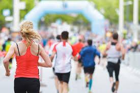 training for a half or full marathon