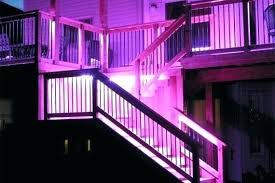 Led strip deck lights Front Porch Led Deck Lighting Strips Led Deck Lighting Strips Patio Deck Lighting Ideas Within Led Deck Lighting Bangkokthaicuisineinfo Led Deck Lighting Strips Sundrenchedelsewhereco