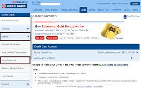 hdfc bank netbanking register login