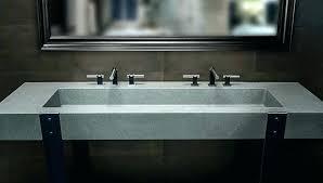 concrete bathroom sink concrete bathroom sink concrete bathroom sink trough sinks basin concrete bathroom sink concrete concrete bathroom sink