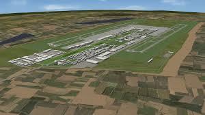 urban masterplan garden city airport