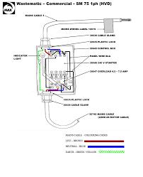 spare parts diagrams wastematic sm 75 1hp 1ph hvd wiring detail