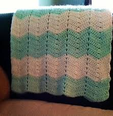 Zig Zag Crochet Pattern Fascinating Zig Zag Cozy Afghan AllFreeCrochet