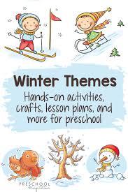 <b>Winter</b> Preschool <b>Themes</b> - Preschool Inspirations