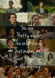 Me Before You Quotes emilia clarke quote sam claffin me before you jojo moyes image 48