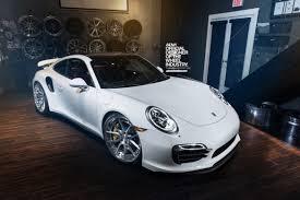 Porsche 991 Turbo S - ADV5.0 Track Spec CS - Brushed Aluminum