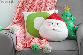 Wonderful Target Santa And Christmas Tree Pillows