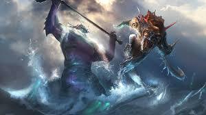creature dota 2 slark slardar wallpapers hd desktop and