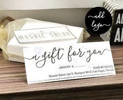 Printable Gift Vouchers Template Inspiration Printable Gift Certificate Gift Card Template Simple Rustic Kraft