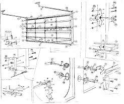 genie garage door partsGarage Door Parts Diagram