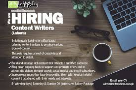 content writers jobs in nov  content writers jobs