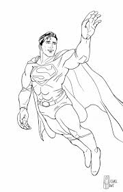 Superman in space coloring pages is one of my favorite. Superman Coloring Page By Michaelhowearts On Deviantart