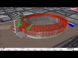Las Vegas Raiders Stadium 4 D Schedule Animation Youtube