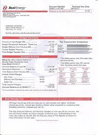 Bill Xcel Template Energy Documents 2019 Bill Utility In