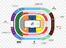 Rabobank Arena Seating Chart With Seat Numbers Amalie Arena Parking Transparent Background Amalie Arena