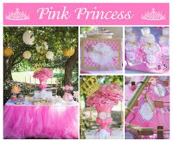 Princess Party Decoration Candy Buffet Table For Ms Princess Party For Little M