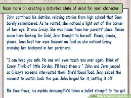 how to write a horror story sample stories wikihow image titled write a horror story step 17