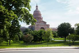 Near Texas State Capitol ...