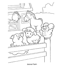 Farm Animal Coloring Pages Get Coloring Pages