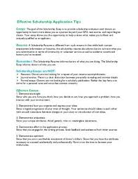 steps to an effective scholarship essay scholarship essay writing tips pdf