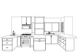 interior design sketches kitchen. Kitchen Design Sketch Home Interior Ideas Best Style Sketches