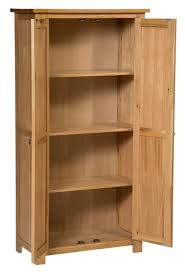 furniture storage bookcase inch wide with doors cherry wood glass design solid bookshelves concealed room
